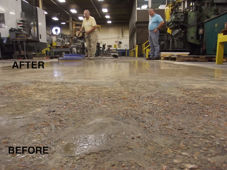 7 Benefits of Mechanically Polished Concrete