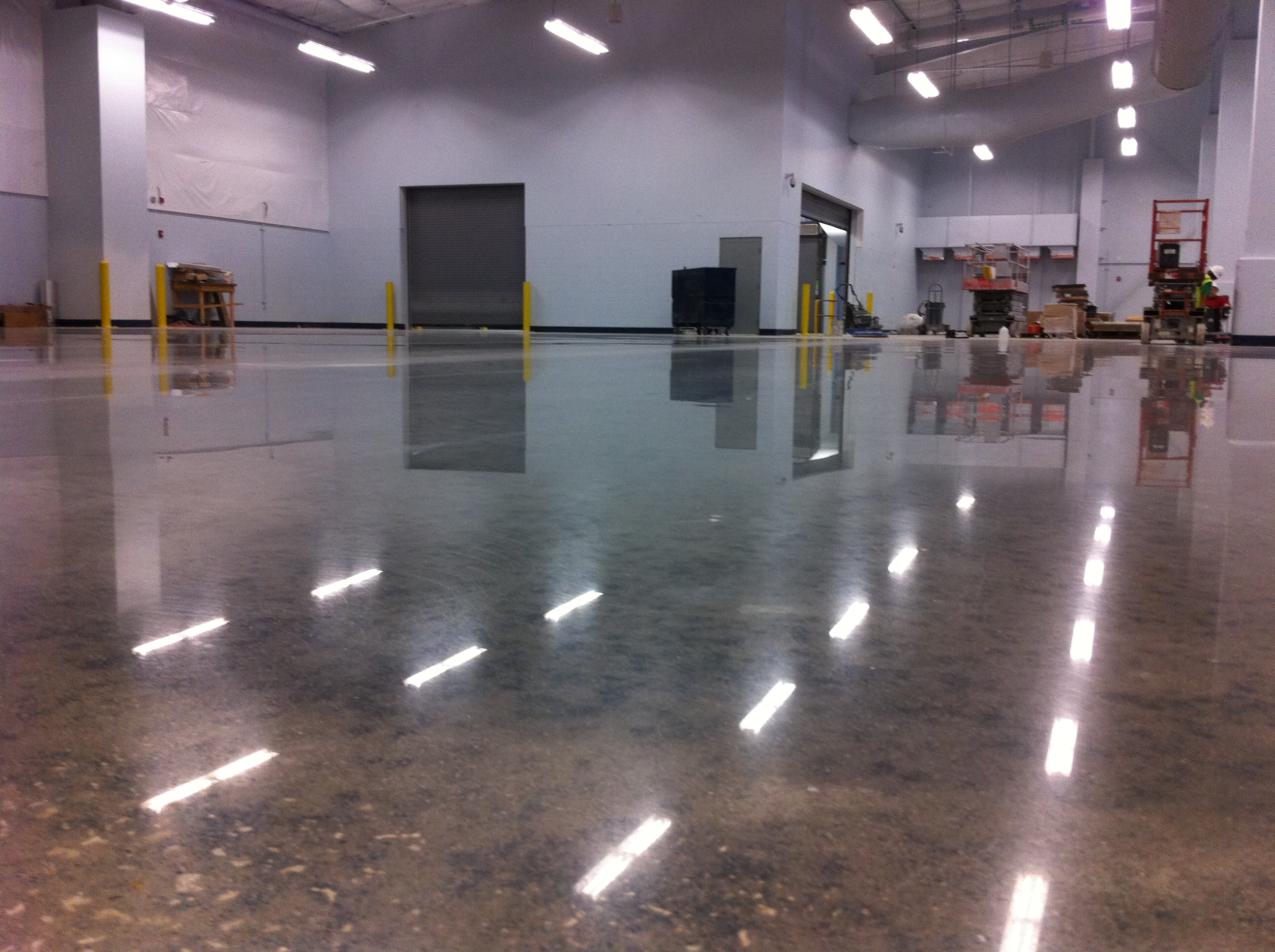 factory polished concrete floors