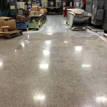 Central Alabama Mechanically Polished Concrete