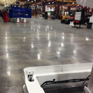 Central Florida Mechanically Polished Concrete