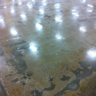 Central Mississippi Mechanically Polished Concrete
