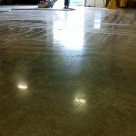 Northeast Florida Mechanically Polished Concrete