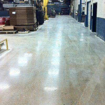 Northern Mississippi Mechanically Polished Concrete