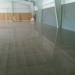 Northwest Florida Mechanically Polished Concrete