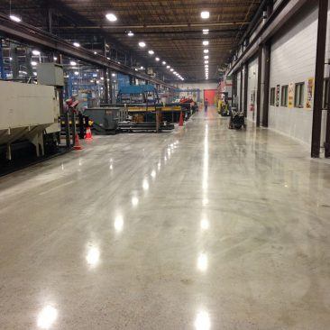Southern Alabama Mechanically Polished Concrete
