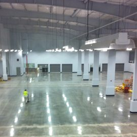 South Florida Mechanically Polished Concrete