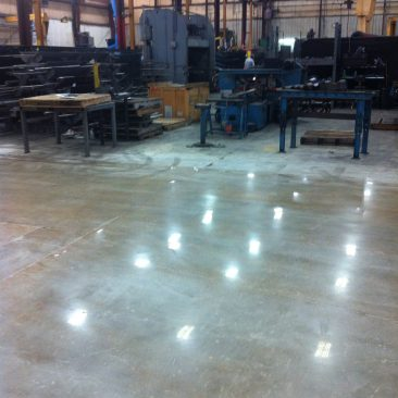 Southern Mississippi Mechanically Polished Concrete