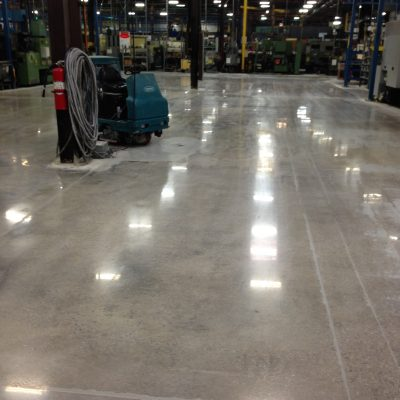 Northern Alabama Mechanically Polished Concrete
