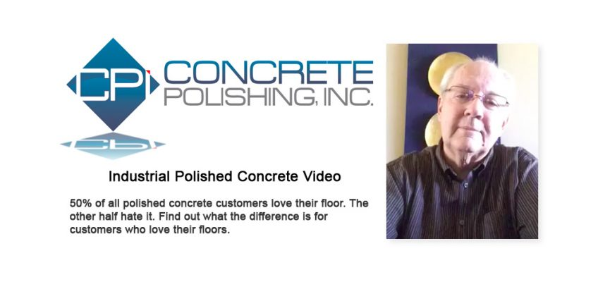 Half of Industrial Customers Hate Polished Concrete