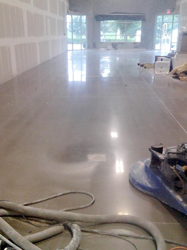 Mechanically Polished Concrete Options