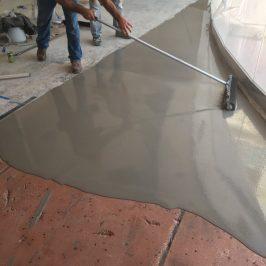 Pre-Game: Concrete Floor Repair